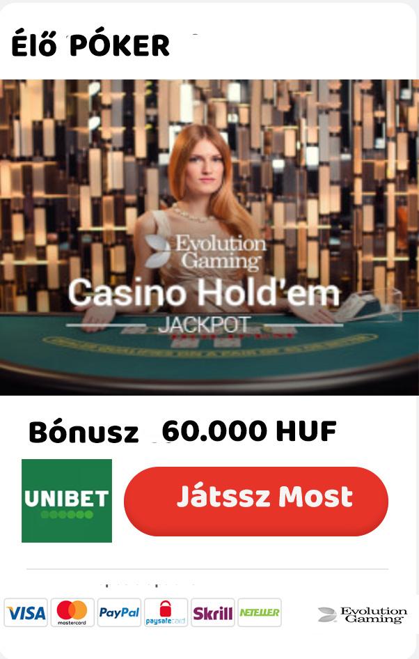 Póker Oldalak, Élő kaszinók Játékok